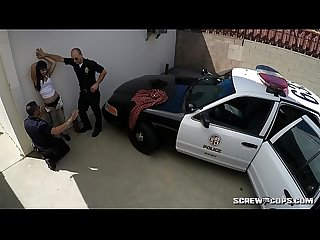 Cops Fuck Latina Teen in Public