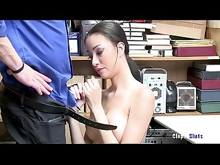 Scarlett bloom gets caught and bribes pussy jail