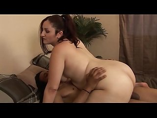 A fat slut gets fucked relentlessly by a big cock