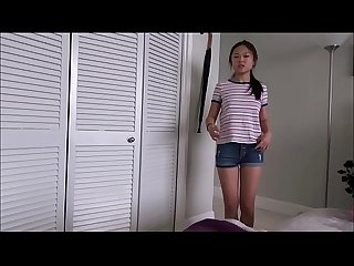 Tiny Asian Teen Sister Shares Brother's Room - Lulu Chu - Family Therapy - Preview
