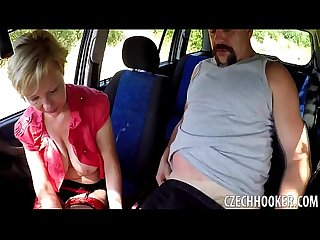 Mature blonde hooker licks butthole for money