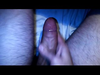 Solo Handjob male and Nice Cumshot
