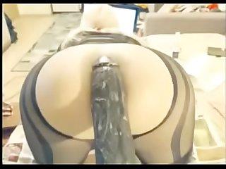 shemale trany dildo enorme