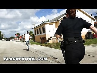 BLACK PATROL - Officer Maggie Green and Her Partners Are Layin' Down The Law