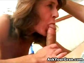 great 60 yo granny hot body fuck and facial