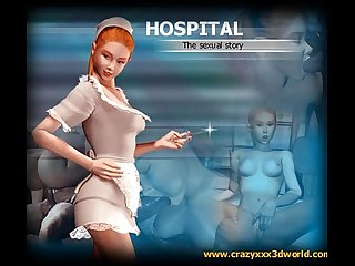 3d comic colon Hospital