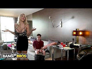 Bangbros horny Step mom Katie morgan punishes juan for messing up the condo