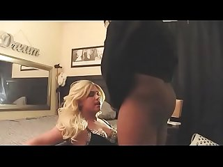 Blonde Slut Fucked By Two Men