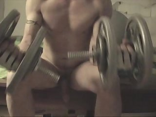 Workout n jerkoff