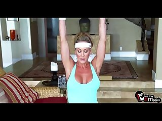 Brandi Love screams & shouts as her gym lover rams her MILF cunt - MilfyMom.com