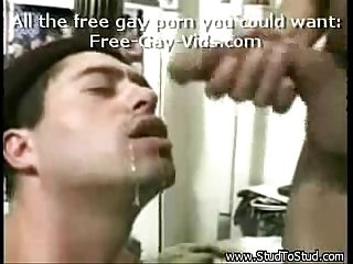 Brazilian guy fucks blindfolded white man