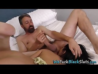 Black babes pussy jizzed