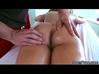 Gorgeous girl massage