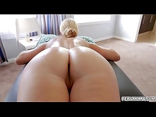 Step son is using his massive tool fucking India Summer's aged vagina so good!