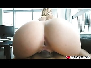 Horny chick Chloe Lane with a big cock inside her pussy