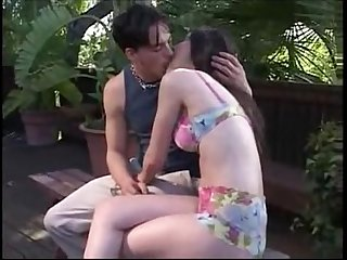 Ex girl friend creampied outside and filmed by bestfriend