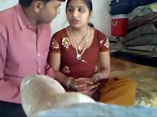 Newly Married Bhabhi in Red Bangla Experience. More:..