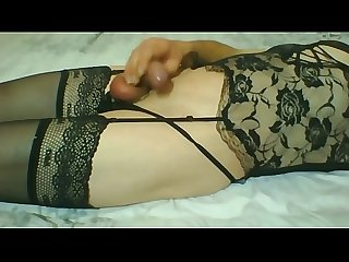 New lingerie crossdresser