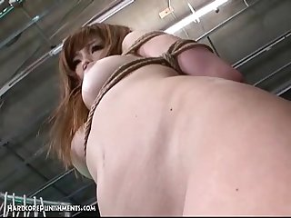 Japanese bondage sex extreme bdsm punishment of ayumi