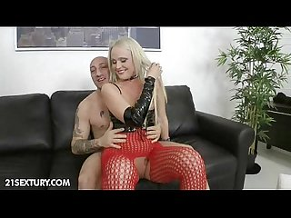 Anal training of Tanya star