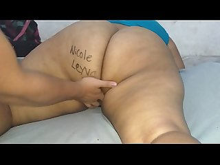 Bbw I asked my boyfriend to masturbate with his fingers and a client who sponsored this video..