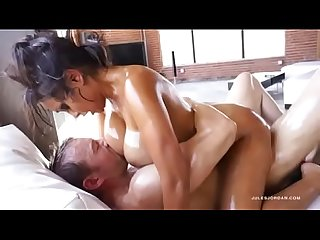 Priya Rai Oiled Up Titfucking & Cumshot Scene