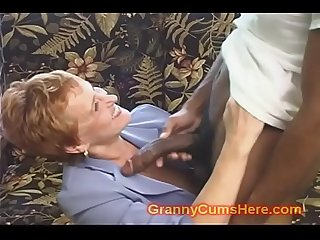 School Teacher GRANNY gets FUCKED