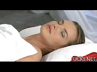 Erotic massage for ravishing dyke