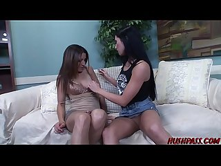 Natalie Nitro and Anne Marie Rios Get Together for Some Hardcore Lesbian Sex!