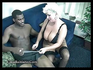 Saggy tits claudia marie fucked by black stud