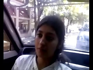 Desi cute college girl fucked in car