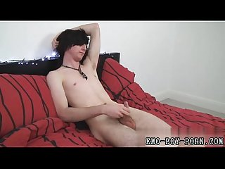 Smooth gay twink cum adorable guy lovemaking cherry terror ted joins
