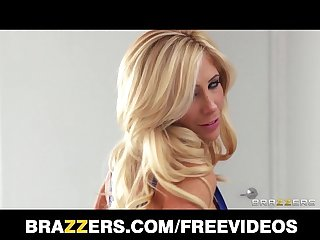 Tasha reign strips out of her diner dress for a girl girl threesome