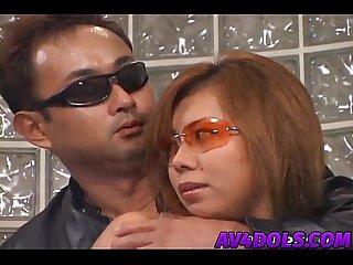 Aya fujii in silver gets doggy