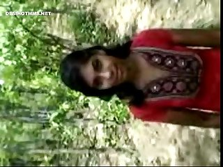 Ind college girl in forest nude fucked