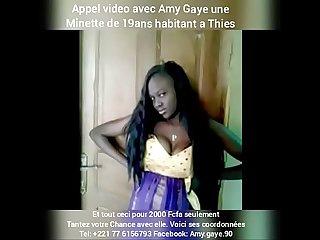 Appel video avec amy gaye de thies pour seulement 2 000fcfa 221776156793