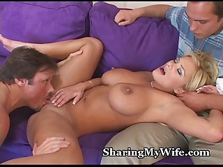 Big Tit Wifey Has Jealous Hubby