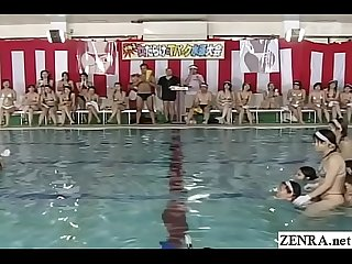 JAV pool games 36 women capture the bikini top Subtitles