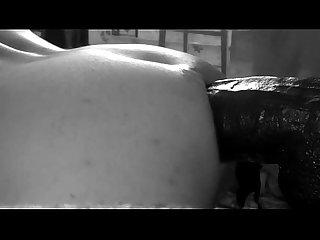 Wrapping my ass around bam huge dildo