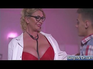 Horny Patient (Leigh Darby) And Doctor In Hard Sex Adventures mov-15