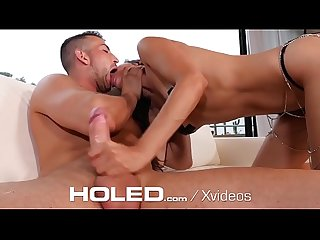 HOLED Backdoor toy pleasure and anal POUNDING
