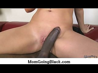 Interracial porn horny milf and big black cock 2