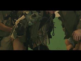 Apocalypse gangbang blowjob and ass fuck