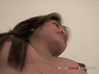 Asian bar girls from asiancamslive com strips in hotel