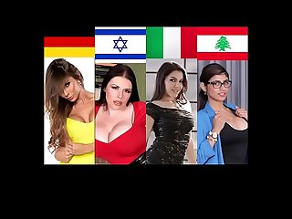 The Best Pornstar In Every Country - Part 2