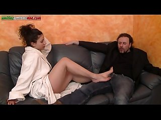 The puppet of elisa first part footjob