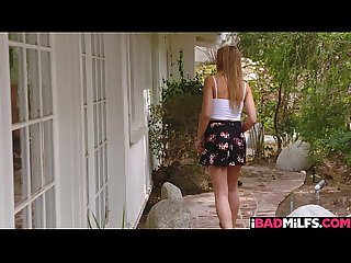 Teen blair williams and bad milf amber chase have lesbian sex