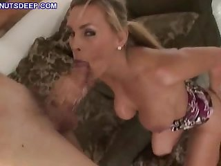 Teen throat fucks for cum