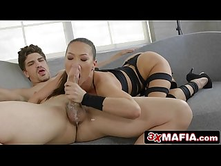 Freaky Korean MILF Kalina Ryu Tricked into Deepthroat Sucking and Fucking