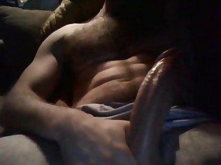 Big cock masturbation